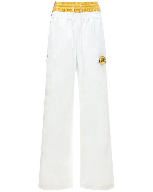 Брюки Lakers Nrg Ir Tech Tearaway Nike, цвет: White