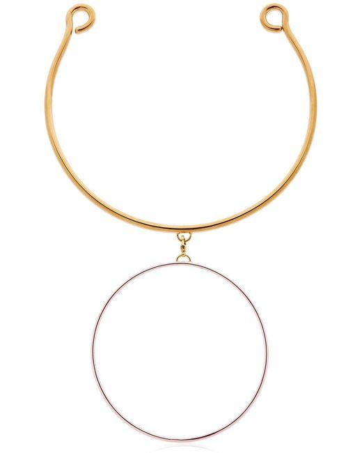 Maria Francesca Pepe | Metallic Hoops I Did It Again Necklace | Lyst