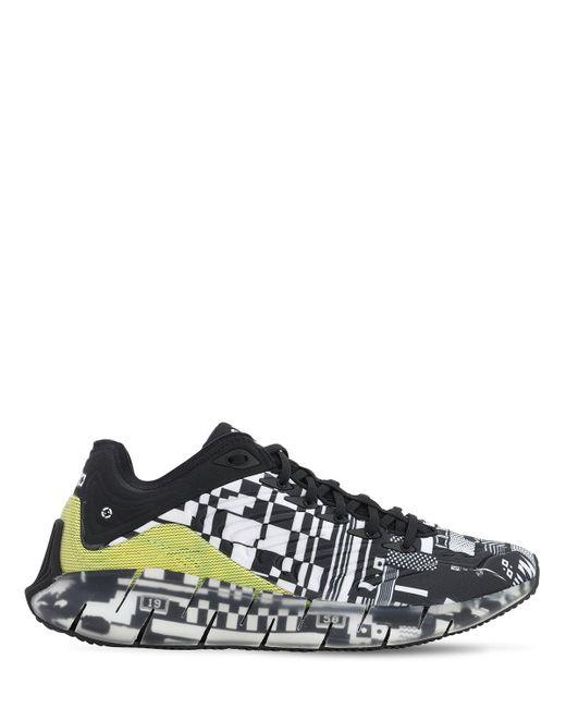 "Reebok Black Sneakers ""kenzo Minami Zig Kinetica"""