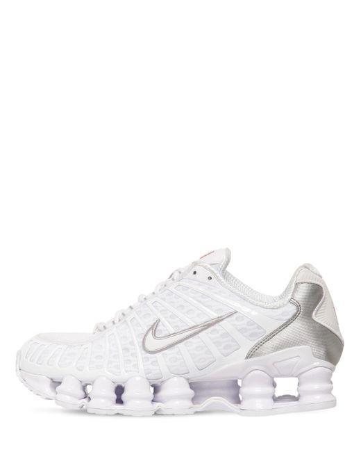 Nike Shox Total スニーカー White