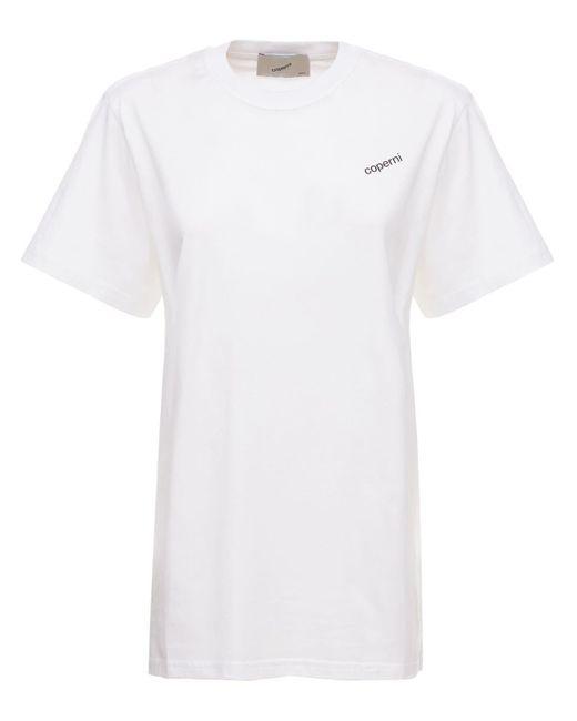 Coperni オーバーサイズジャージーtシャツ White