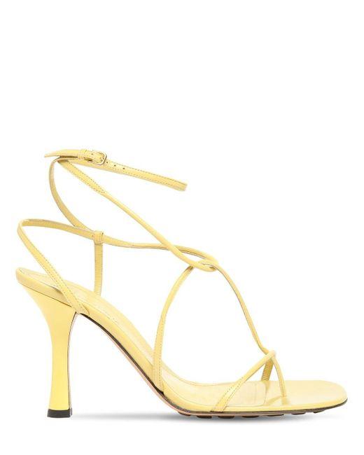 Bottega Veneta Bv Line レザーソングサンダル 90mm Yellow