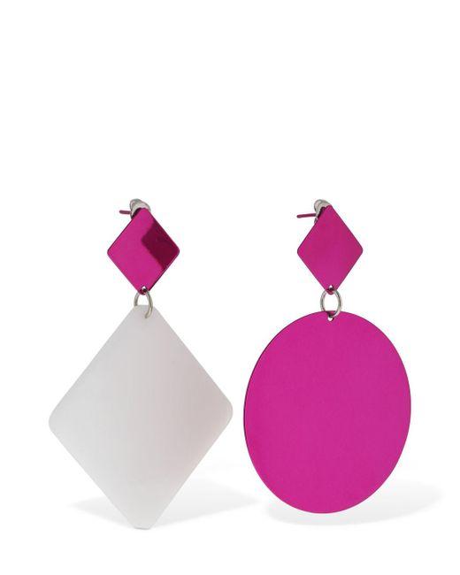 Isabel Marant New Asphalt バイカラーピアス Pink