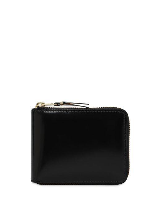 Кожаный Бумажник Comme des Garçons для него, цвет: Metallic