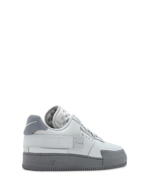 メンズ Nike Air Force 1 Type-2 スニーカー Gray