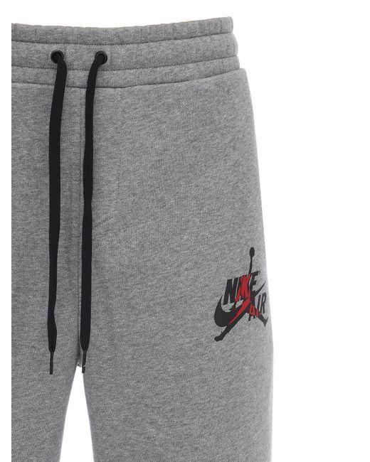 メンズ Nike Air Jordan コットンブレンドスウェットパンツ Gray