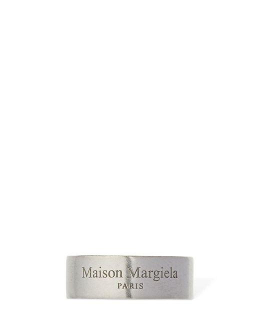 メンズ Maison Margiela ロゴリング Multicolor