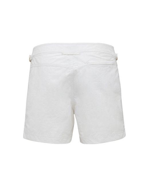 メンズ Tom Ford Classic ナイロン水着 White