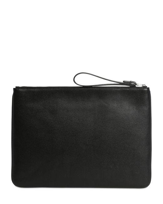Клатч С Логотипом Balenciaga для него, цвет: Black