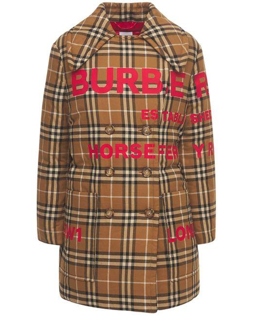 Burberry コットンダウンジャケット Multicolor
