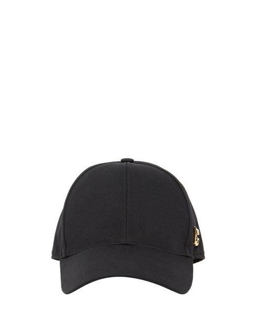 Бейсболка С Металлическим Логотипом Dg Dolce & Gabbana для него, цвет: Black