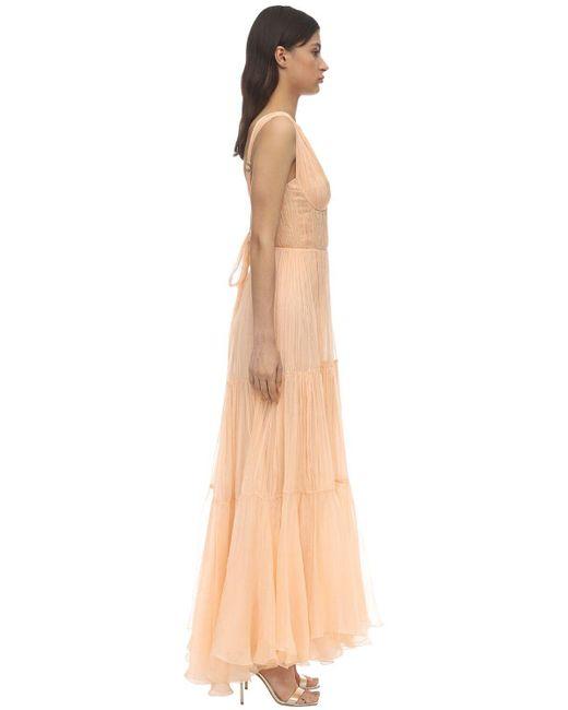 Maria Lucia Hohan Mairi モスリンドレス Pink