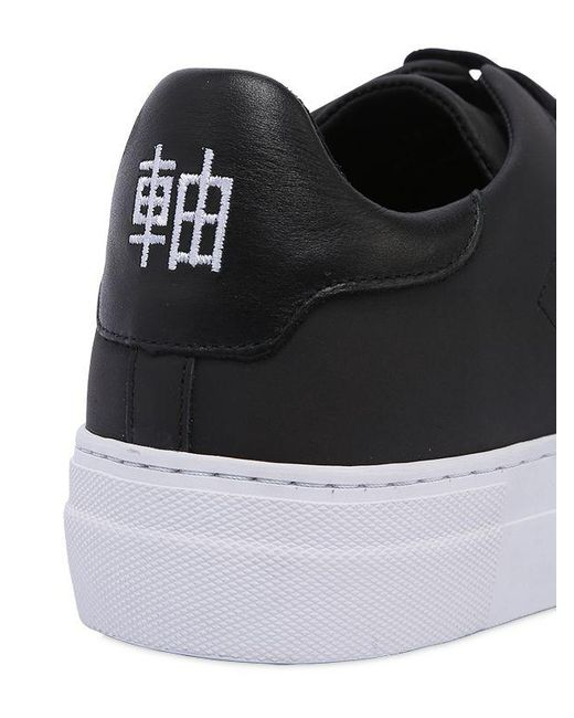 big sale 3b89c 86b79 ... Axel Arigato - Black Clean 360 Matte Leather Sneakers for Men - Lyst ...