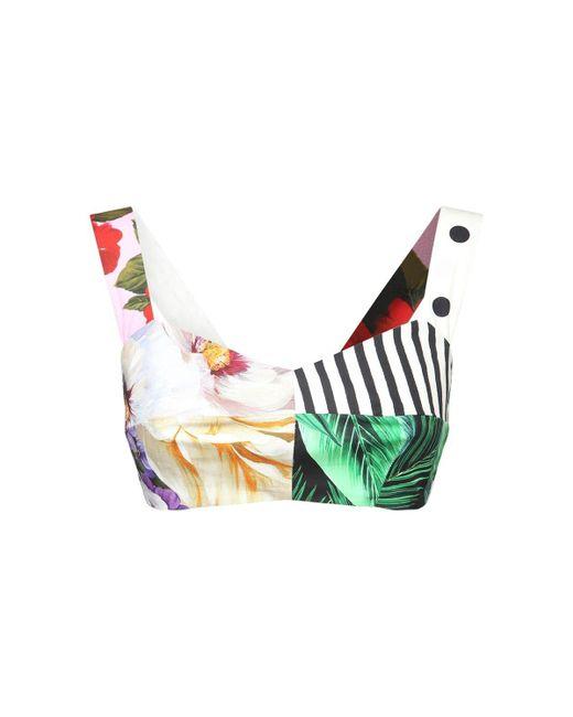 Dolce & Gabbana ポプリントップ Multicolor