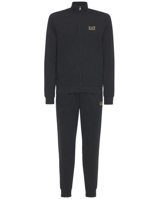 メンズ EA7 Train Core Id スウェットシャツ&スウェットパンツ Black