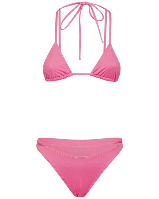 Бикини Jacquemus, цвет: Pink