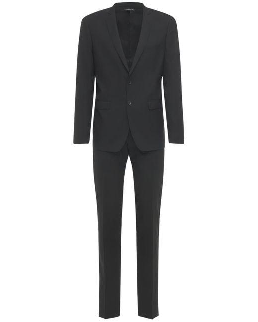 メンズ Tonello Ropical Natural ヴァージンウールスーツ Black