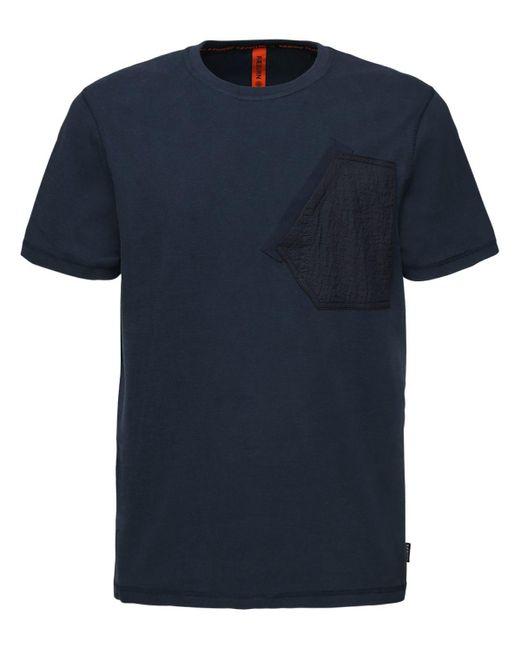 Raeburn T-shirt Aus Baumwolljersey Mit Tasche in Blue für Herren