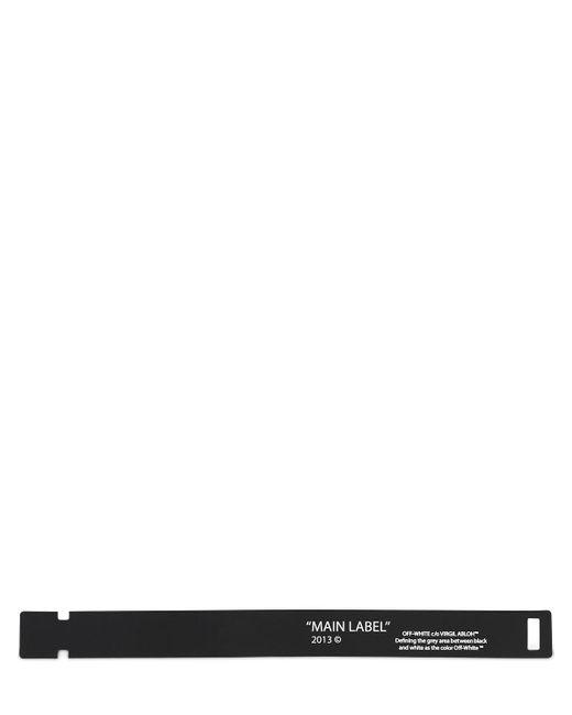 メンズ Off-White c/o Virgil Abloh Pvcブレスレット Multicolor