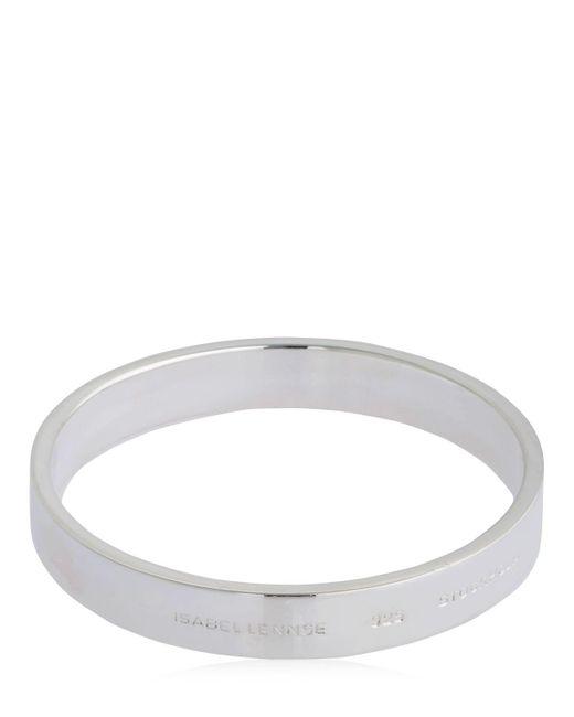Isabel Lennse - Metallic Plain Bracelet - Lyst