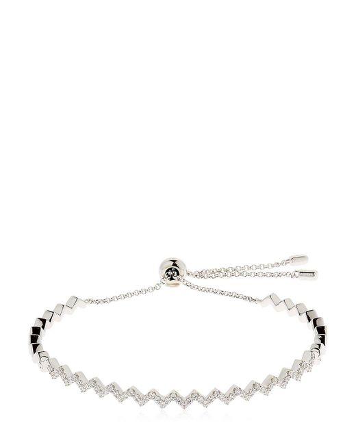 Apm Monaco   Metallic Up And Down Silver Bracelet   Lyst