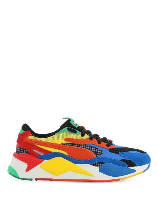 Puma Select Multicolor Rs-x Rubiks Sneakers for men