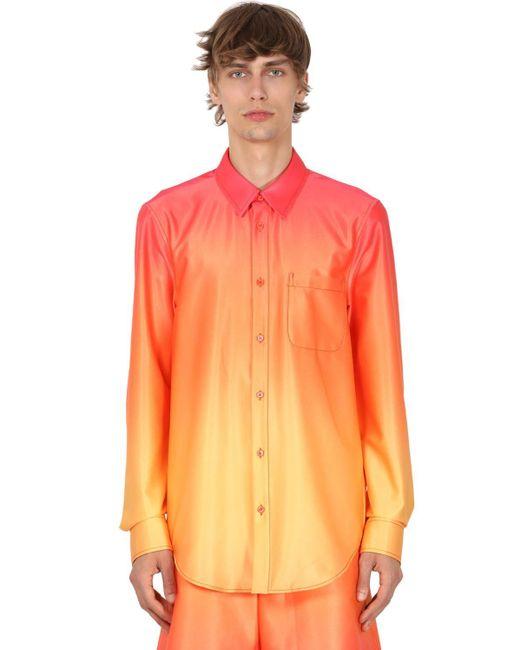 メンズ Sies Marjan ストレッチシャツ Multicolor