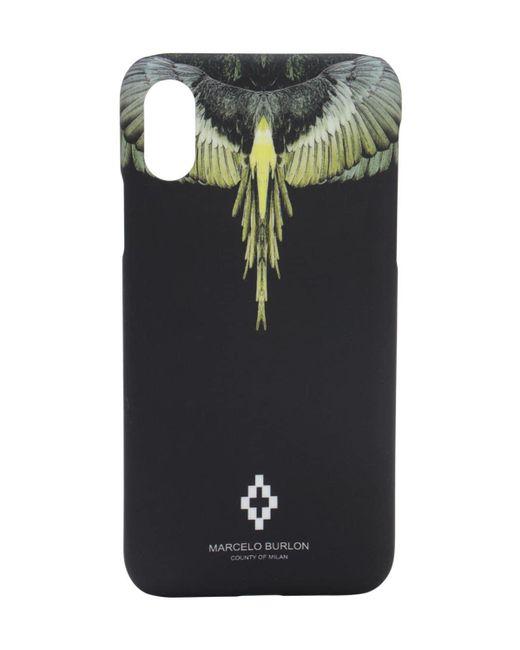 メンズ Marcelo Burlon Iphone X/xs ケース Black
