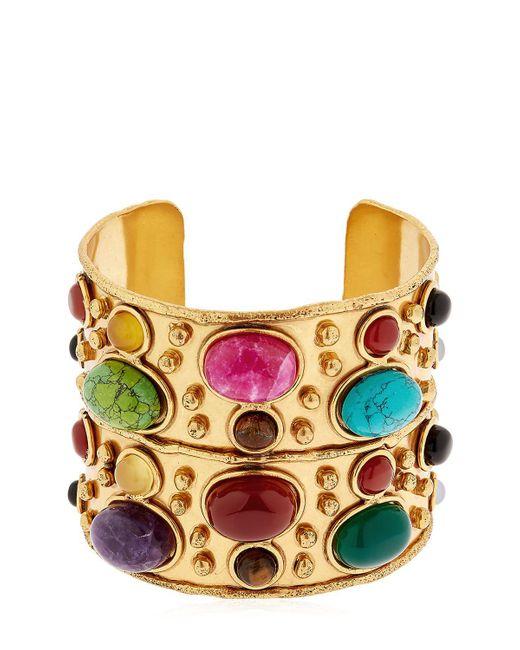 Sylvia Toledano - Metallic Manchette Byzance Cuff Bracelet - Lyst