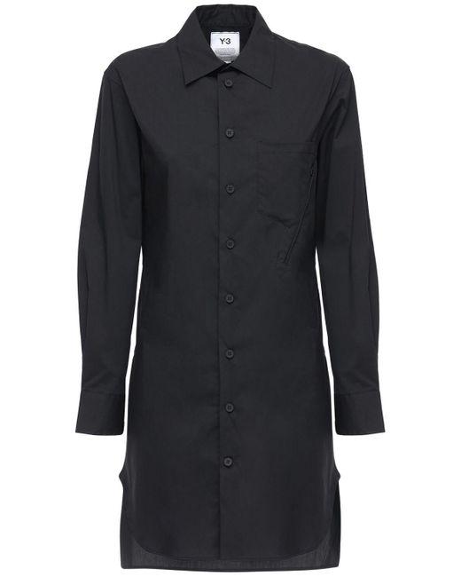 Y-3 Classic コットンブレンドシャツ Black