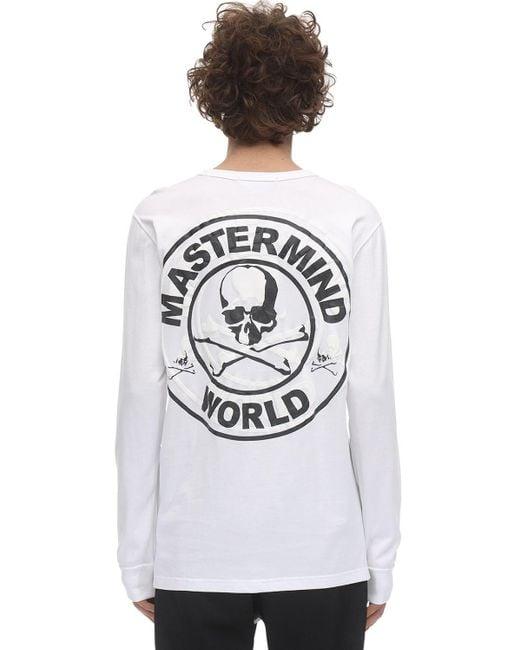 メンズ MASTERMIND WORLD ジャージーtシャツ White