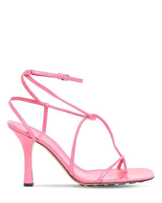Bottega Veneta Bv Line レザーソングサンダル 90mm Pink