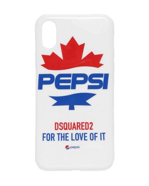 DSquared² Pepsi Iphone X ケース White