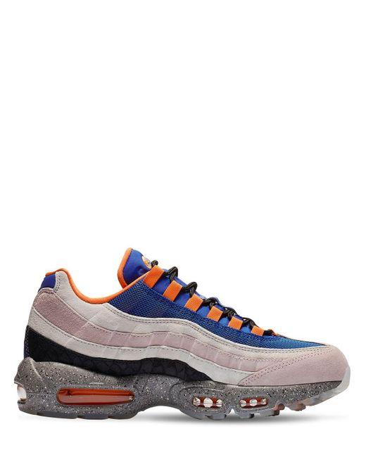 """Nike Sneakers """"air Force 95 We"""" in Blue für Herren"""
