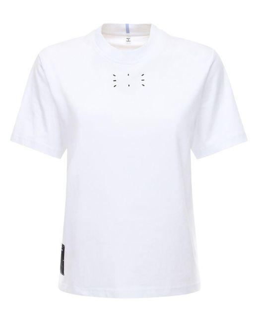 McQ Alexander McQueen コットンジャージーtシャツ White
