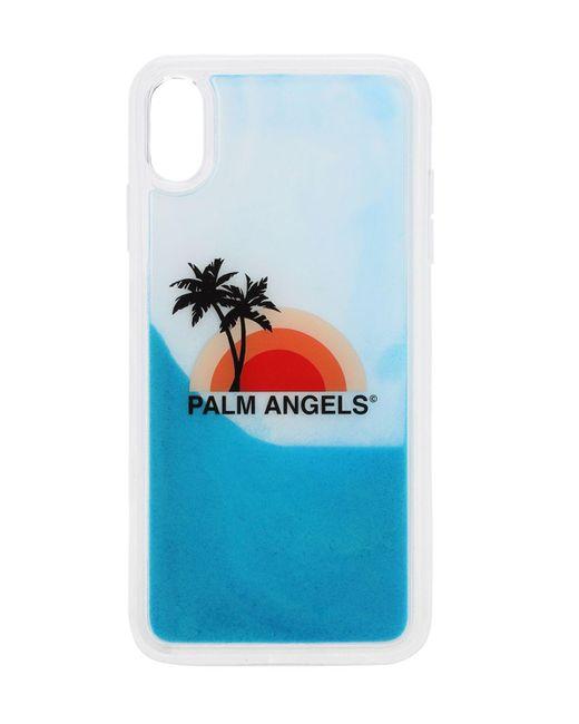 メンズ Palm Angels Iphone Xs Max ケース Blue
