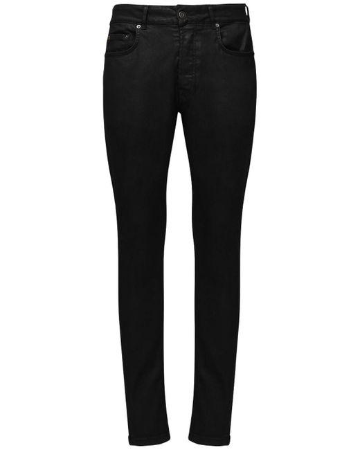 メンズ Htc Los Angeles コットンデニムジーンズ 16cm Black