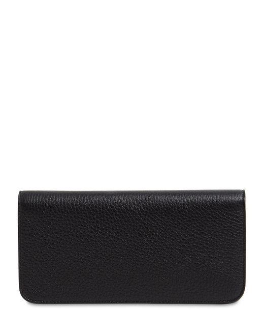 Кожаный Дорожный Набор Maison Margiela для него, цвет: Black