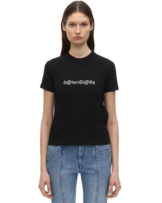 Balenciaga ジャージーtシャツ Black