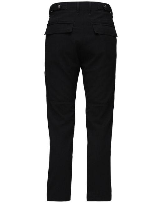 DIESEL Hose Cool Wool-mischung in Black für Herren