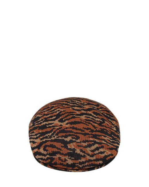 メンズ Kangol Carnival 504 Flat ハット Orange