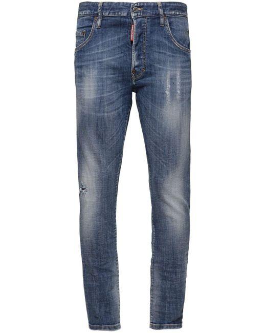 メンズ DSquared² Skater コットンデニムジーンズ 16.5cm Blue