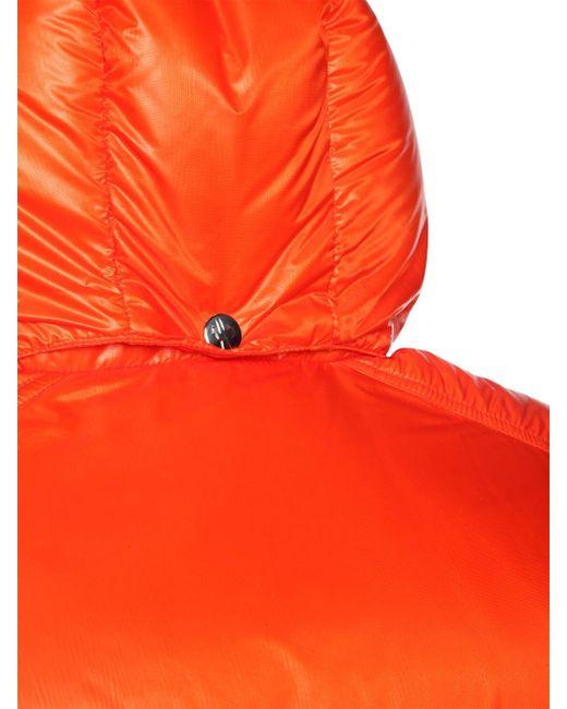 Нейлоновая Куртка На Пуху Tarnos Moncler для него, цвет: Orange