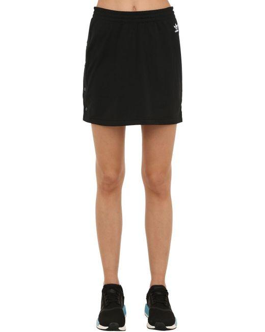 Adidas Originals Sc テクノ素材スカート Black