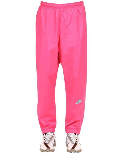 メンズ Nike Atmos Nrg Vintage トラックパンツ Pink