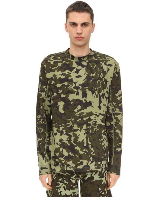 メンズ Nike Matthew Williams Aop Camo Tシャツ Green