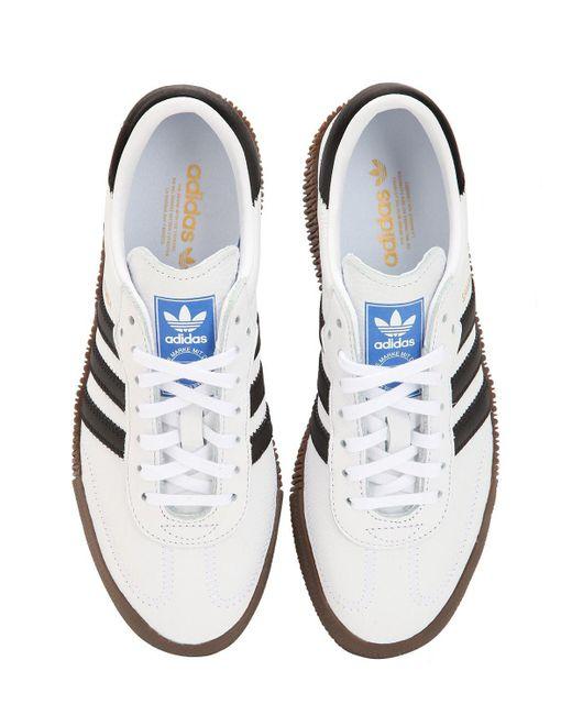 265bf208990626 ... Adidas Originals - White Samba Rose Bold Platform Sneakers - Lyst ...