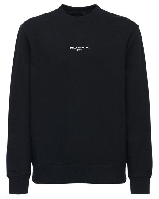 メンズ Stella McCartney Stella 2001 コットンスウェットシャツ Black