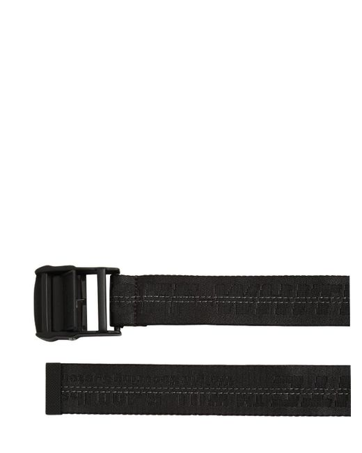 Ремень Из Нейлона С Логотипом 25мм Off-White c/o Virgil Abloh, цвет: Black