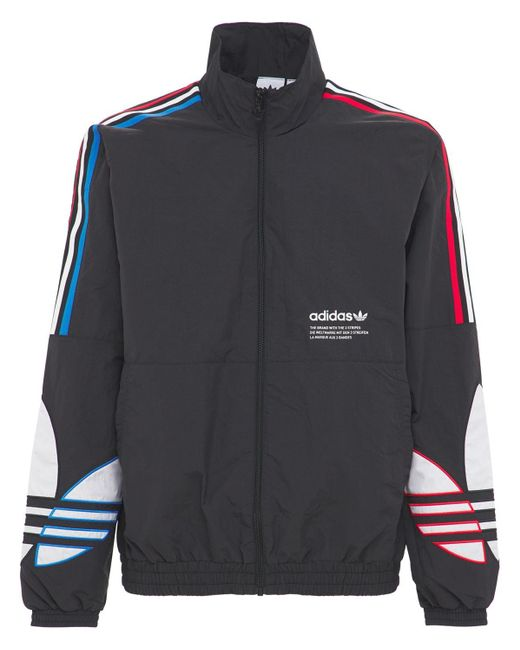 メンズ Adidas Originals Primegreen Tricolor リサイクルトラックトップ Black